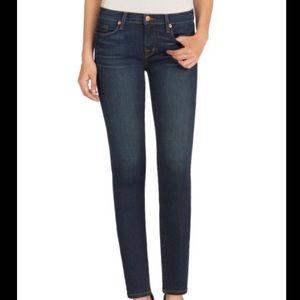 J Brand Mid Rise Skinny Leg Jean in Dark Vintage